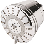 Contemporary Shower Filter with Shower Head